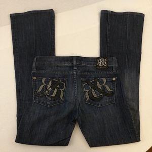 Rock& Republic boot cut jeans size 25
